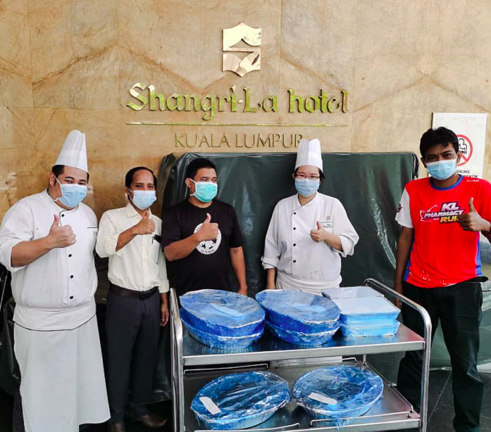 Shangri-La Hotel expresses gratitude