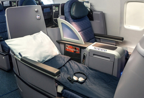 United Airlines B757 200 United Business First Business Traveller