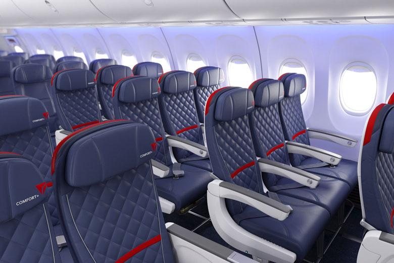 Delta Comfort Plus cabin