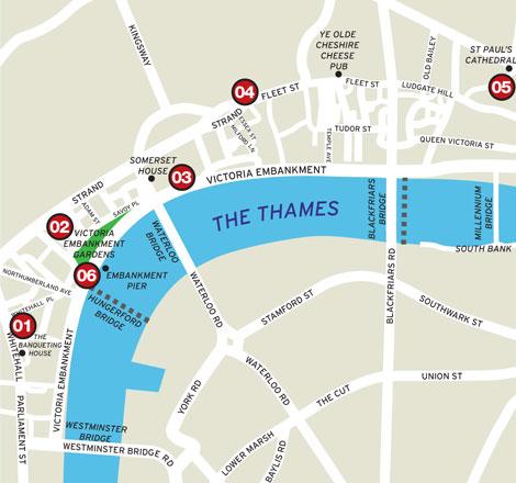 London Victoria Embankment Business Traveller