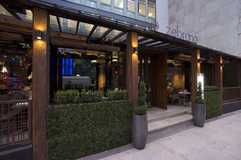 Restaurant Check Zebrano Restaurant Business Traveller