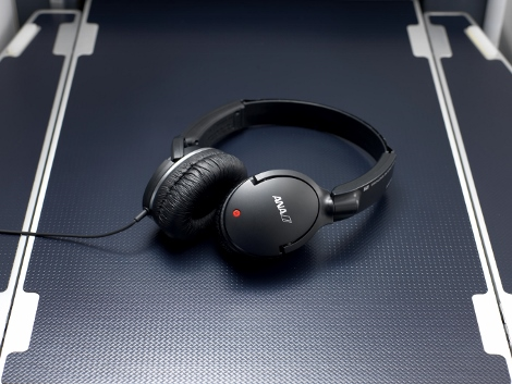 ANA Sony IFE headphones