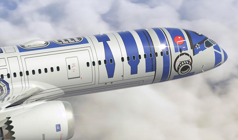 ANA Star Wars livery R2-D2