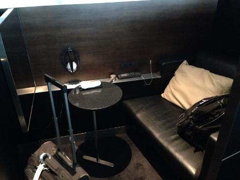 ANA First Lounge, Haneda Massage Chair