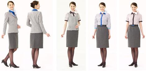 ANA uniforms ground staff female