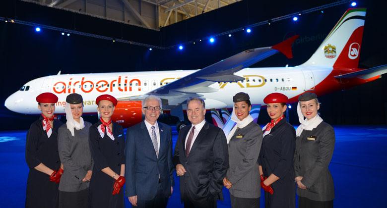 Air Berlin Etihad A320 livery