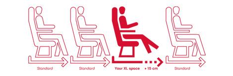 Air Berlin XL seats