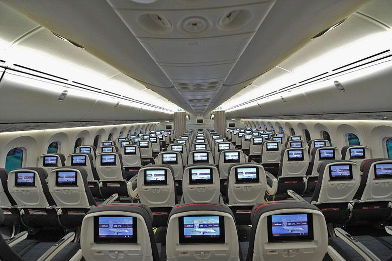 Air Canada Economy cabin