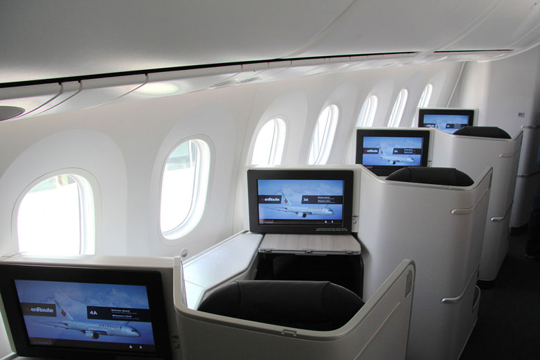 Air Canada International Business cabin