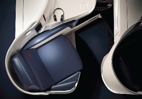 Air France new business class seat