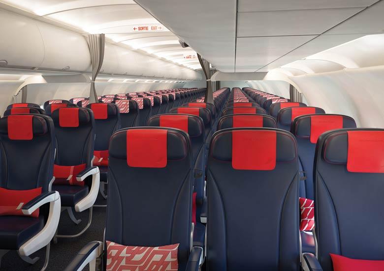 Air France medium-hall cabin