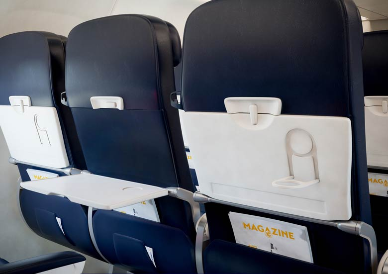 Air France medium-hall seats back