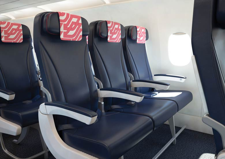 Air France medium-hall seats