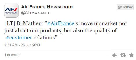 AF tweet