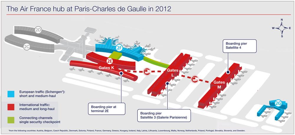 Air france reorganises at paris cdg business traveller for Salon air france terminal 2e