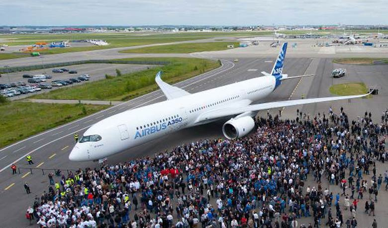 A350 rollout
