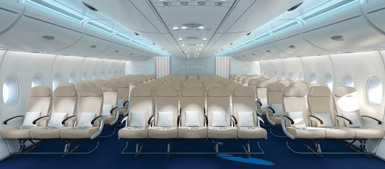 Airbus 11-across seating