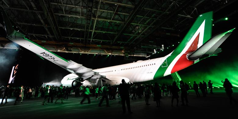 Alitalia new livery