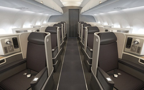 AA reveals A321 transcontinental seating – Business Traveller