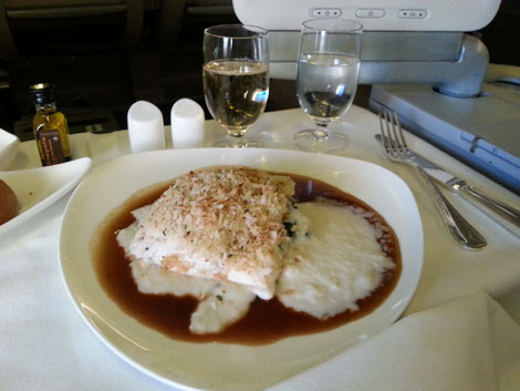 Asiana Airlines food