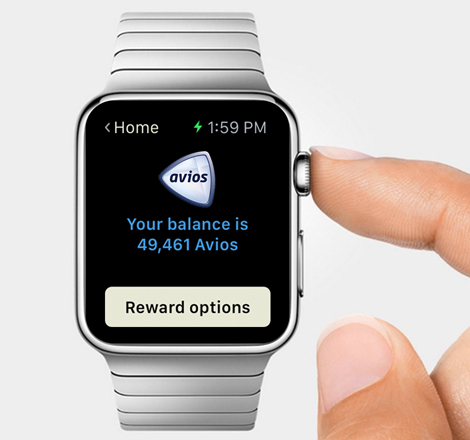 Avios Watch app