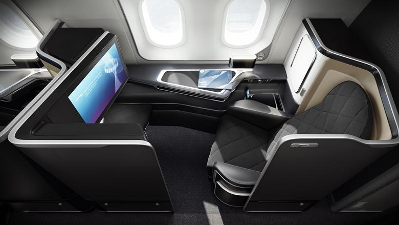 BA B787-9 first class seat