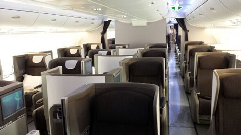 BA A380 Club World