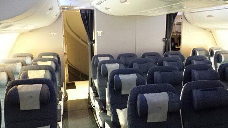 BA A380 economy
