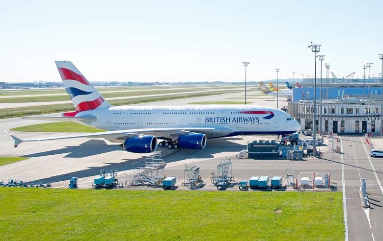 BA A380