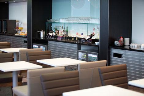 BA Schiphol lounge