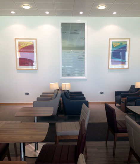 BA Belfast lounge