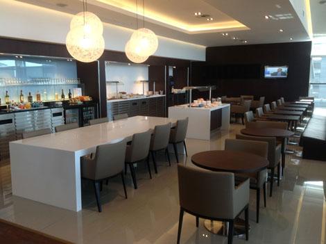 BA Cape Town lounge