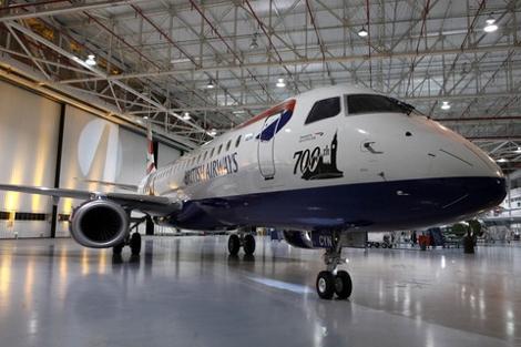 BA City Flyer Embraer 90