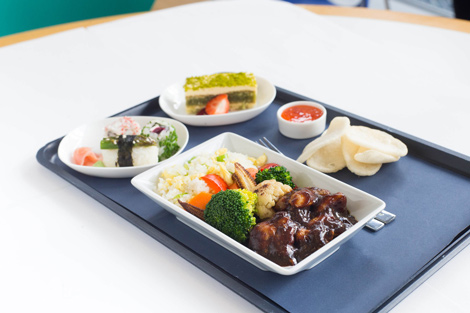 British Airways pre-order meal service