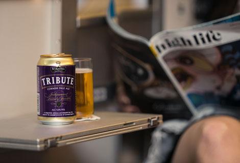 BA to offer Tribute pale ale in-flight