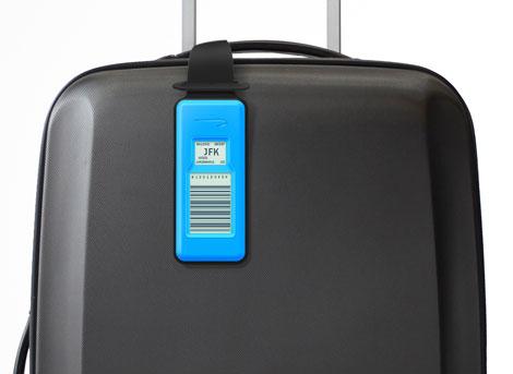 BA bag tag