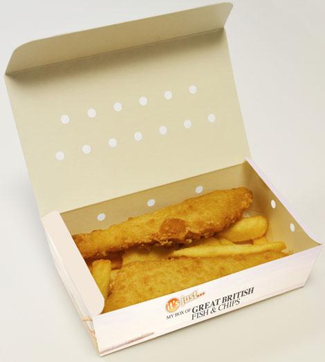 BA fish and chips