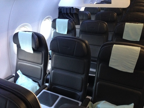 BA A320 new short-haul seating