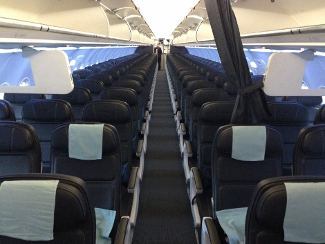 BA new short-haul seating