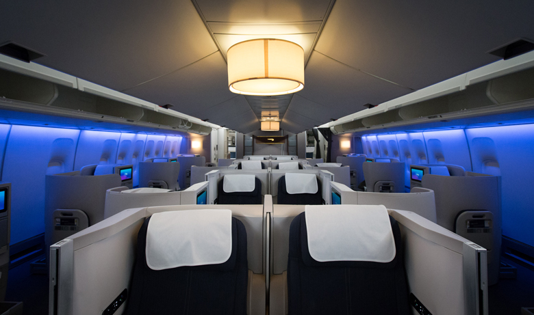 BA refreshed B747 Club World cabin