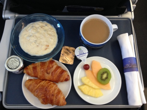 BA short-haul food — cold