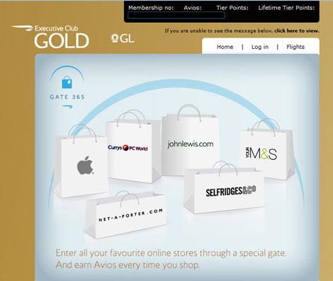 Gate 365 webpage