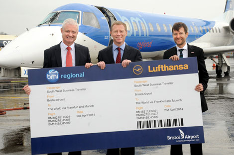 Bmi Regional and Lufthansa sign codeshare