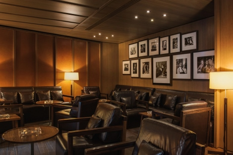 Bulgari cigar room