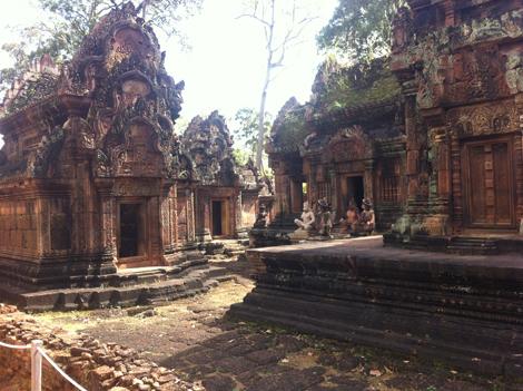 Siem Reap Banteay Banteay Reggie