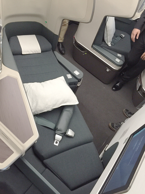 First Look Cathay Pacific A350 Business Traveller