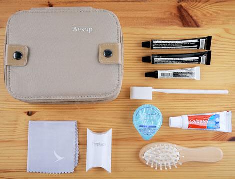 First class female amenity kit