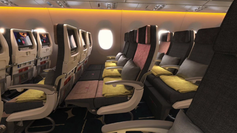 China Airlines Unveils A350 Seat Design Business Traveller