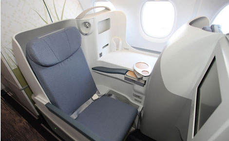 China Southern A380 business class