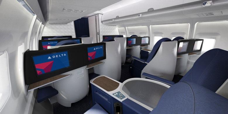 Delta B757-200 Business Elite